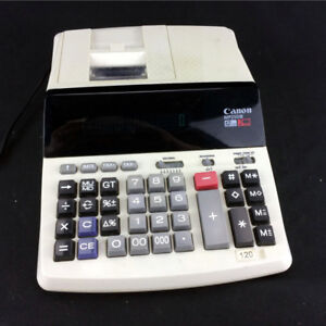 Canon Office Desktop Printing Calculator MP25D 3 III 12 Digits