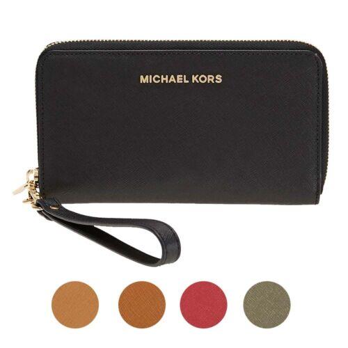 Michael Kors - Michael Kors Jet Set Travel Large Smartphone Wristlet - Choose color
