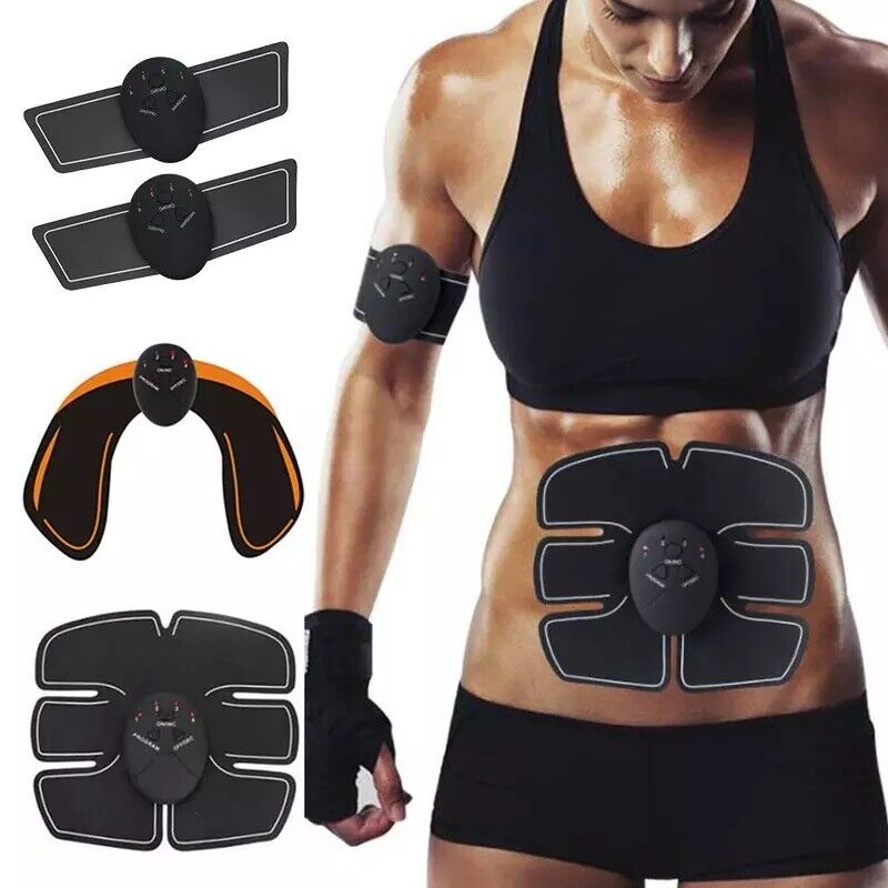 EMS Ab Bicep Hip Muscle Stimulator Fitness Lifting Buttock A