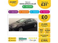 Vauxhall/Opel Astra 1.4i FROM £31 PER WEEK !