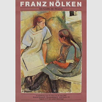 """Franz Nölken. Ein Künstler der """"Brücke"""". 1987"""