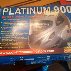 Platinum comunicator 900 headset