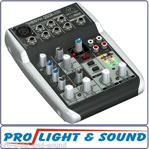 Behringer-XENYX-5-Input-2-Bus-Mixer-Mic-Preamp-EQ-and-USB-Interface-Q502USB