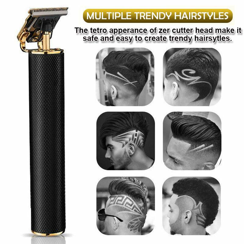 Professional Hair USB Trimmers Beard Set