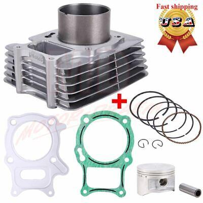 Top End Cylinder Piston Gasket Kit For Honda Recon 250 TRX250 Sportrax TRX250EX