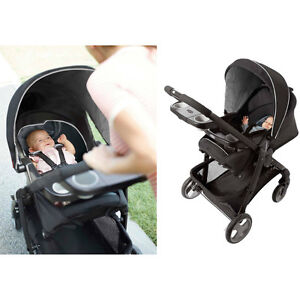 Graco click connect stroller with matching car seat and base