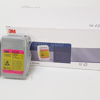 Original 3M 7093C - 12 PCS  (6 Pair) - Ship to FedEX