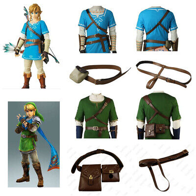 The Legend of Zelda Costume Belt Strap Link Cosplay Halloween Fancy Dress Props - Zelda Halloween Costume Link