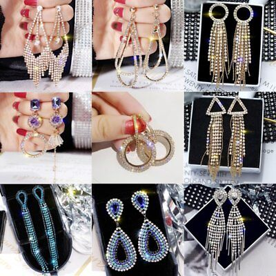 Trendy Jewelry Statement Dangle Drop Hoop Earrings Big Gold Geometric (Golden Wedding Earrings)