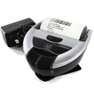 Zebra Imz320 Thermal Bluetooth Label Printer W Adapter