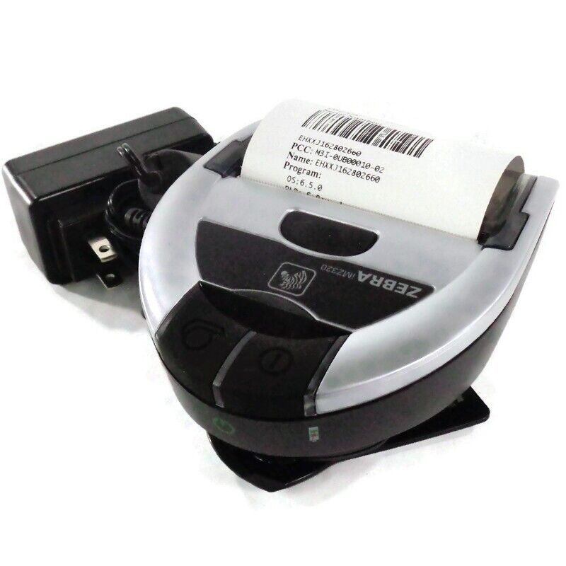 Zebra iMZ320 Thermal Bluetooth Label Printer w/ Adapter