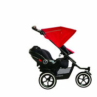 phil&teds Navigator Buggy with Second Seat, Midnight Blue