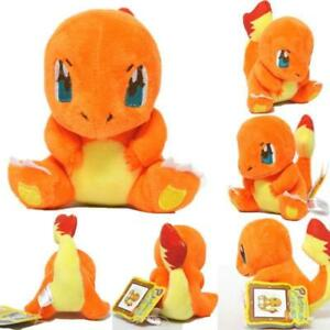 Details about New Pokemon Charmander Plush Soft Toy Stuffed Animal Cuddly Doll