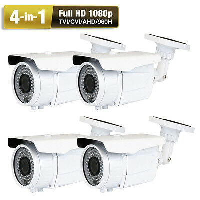 AHD CVBS 2.6MegaPixel 4 Sony CMOS CCD 4-in-1 1080P 72IR OSD Security Camera AC