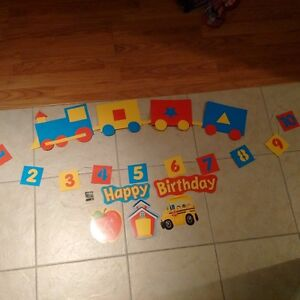 homemade birthday decorations