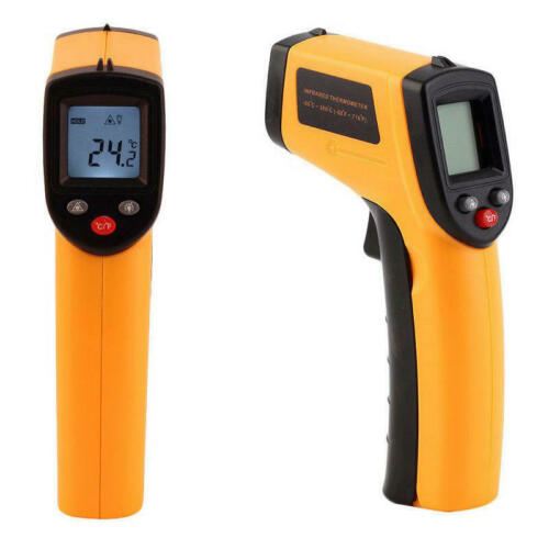 Gm320 Non-contact Lcd Ir Laser Infrared Digital Temper Thermometer P15 Accurate