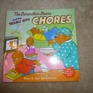 Berenstain Bears book - The Trouble with Chores