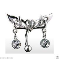 Bisagra Piercing De Ombligo/piercing Ombligo Con Tribal Diseño Y -  - ebay.es