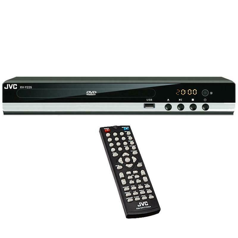 JVC XV-Y225 All Region Code Free DVD Player 5.1 Channel Plays PAL NTSC Worldwide