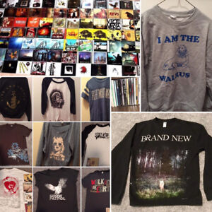 60 CD'S ALL GENRES LISTED ALPHABETICALLY $1-$5 & BAND FANWEAR!