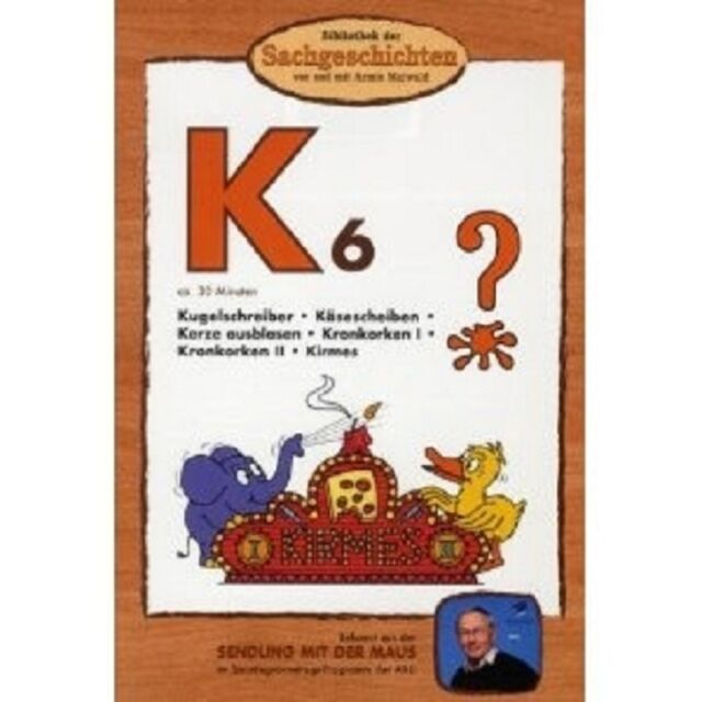 BIBLIOTHEK DER SACHGESCHICHTEN (K6): KIRMES,... DVD NEU