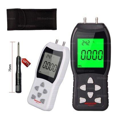 Nktech Nk-l3 Digital Manometer Differential Air Pressure 3psi Gauge Temperature