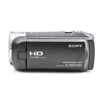 Sony Handycam HDR-CX405 1080p HD 30x Zoom Video Camera - HDR-CX405/BC