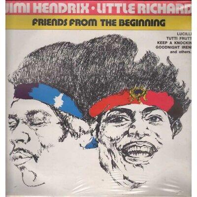 Jimi Hendrix / Little Richard Lp Vinilo Amigos From The Beginning Sellado segunda mano  Embacar hacia Argentina
