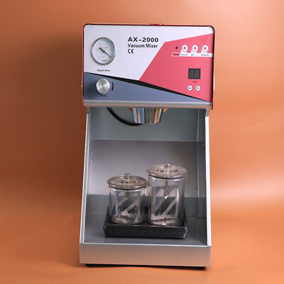 1pcs New Dental Vacuum Mixer Dental Laboratory Equipment Ax-2000c Ce Approved