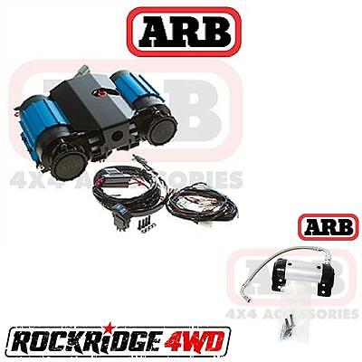 ARB Twin Air Compressor 12 Volt & ARB Locker Manifold Kit ARB171503 ARBCKMTA12