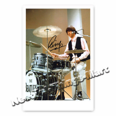 Ringo Starr - Richard Starkey The Beatles Autogrammfoto