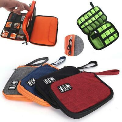 Electronic Accessories Cable Organizer Storage Pouch Upgraded Data Line Case BL