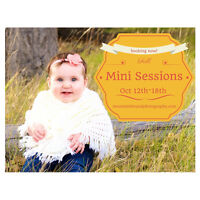 Photography - Fall Mini Sessions