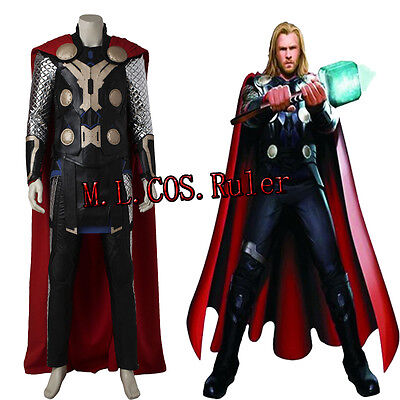 Thor Original Costume (New Original The Avengers Age of Ultron Thor Odinson Cosplay Costume)