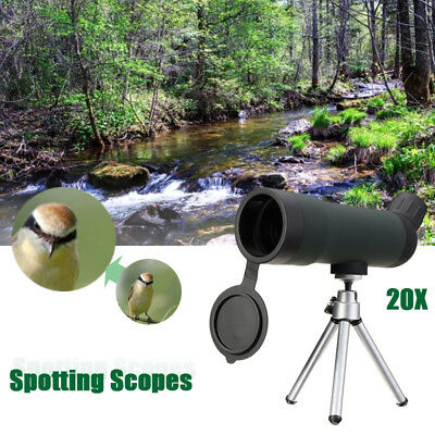 20x50 Zoom HD Spotting Scope Monocular Telescope + Tripod Stand Night Version