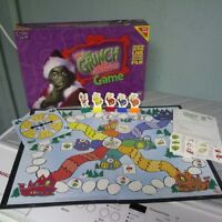 The Grinch Stole Christmas Board Game!