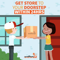 Same-day Grocery and shopping delivery from big-box retailers