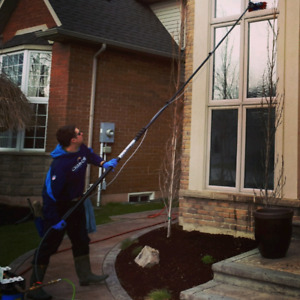 Window Cleaning; commercial and residential