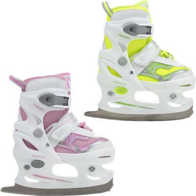 Schlittschuhe für Kinder Jugendliche Eiskunstlauf größenverstellbar Nils Jugend Schlittschuhe Größe