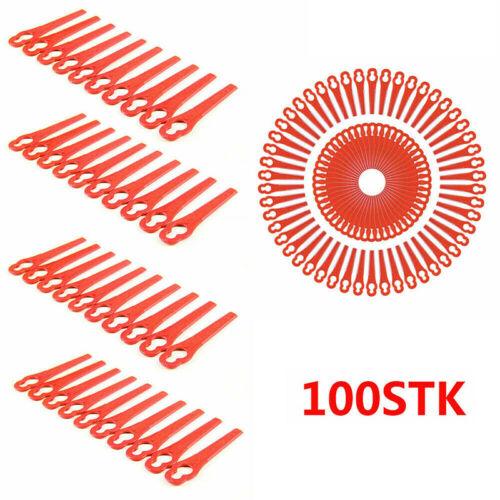 50X Ersatzmesser für Bosch ART 23 Easytrim Accu Rassentrimmer Freischneider