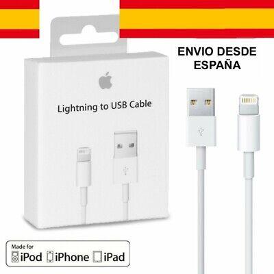 Cable Cargador para iPhone iPad 1m iPad X Xs 6 7 8...