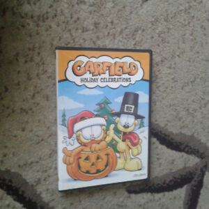 Garfield holiday celebrations oop dvd