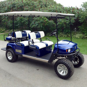 2008 EZGO ST SHUTTLE GOLF CART