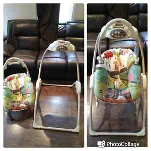 Fisher Price 2 in 1 swing Cornwall Ontario image 1