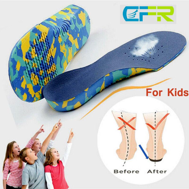 Kids Children Orthotic Shoes Insoles Orthopedic Flat Feet Ar