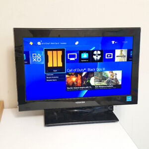 """Toshiba 19"""" LED-LCD   HD  TV built-in DVD player"""