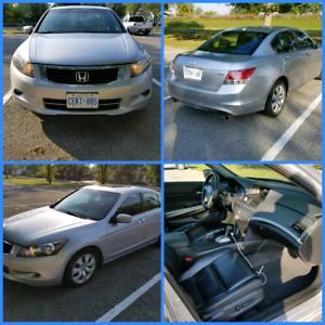 2008 Honda Accord EX-L Loaded, V6, New Brakes! Safety/Etest