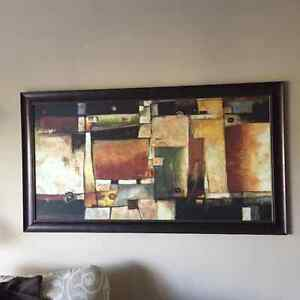 Large Abstract Print