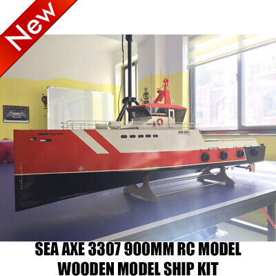 SEA AX 3307 900mm RC Schlachtschiff Modell Holz Schiffssatz ferngesteuert Schiff