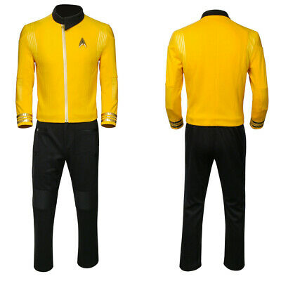 Star Trek Discovery Season 2 Starfleet Captain Pike Uniform Costumes Full Set - Star Trek 2 Uniform